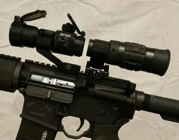 1.5 - 5x VARIABLE MAGNIFIER & Red Dot Sight with FTS Mount e