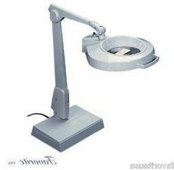 DAZOR 1.75x MAGNIFIER LAMP CIRCLINE WITH BASE FLOATING ARM D
