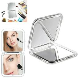 1 Folding Mirror Compact Magnifying Travel Cosmetic Makeup H