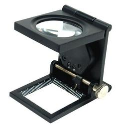 10x 30mm foldable lighted magnifier loupe jewelry
