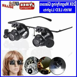 20x magnifying magnifier glasses magnifaction jeweler watch