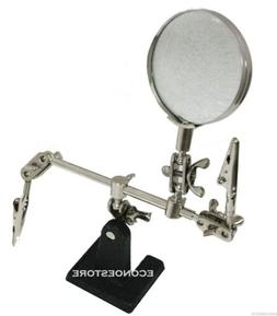 2x Optical Helping Hand Soldering Stand Magnifier Magnifying