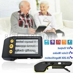 "3.5"" Digital Portable Video Magnifier Electronic Reading 2-2"
