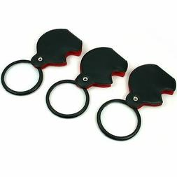 3 folding magnifier 3x with case
