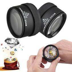 30x 40x Magnifying Glass Eye Loop Optical Magnifier Jewelry