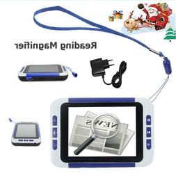 32X 3.5 Inch Digital LCD Magnifier Low Vision Electronic Vis