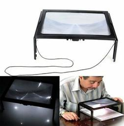 3x large hands free magnifying glass w