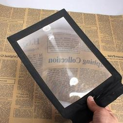 Careshine 3X Magnifier Aid of Reading of Hand for A4 Page En