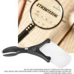 4 LED Lights 2.5X 20X Magnifying Glass Reading Magnifiers fo