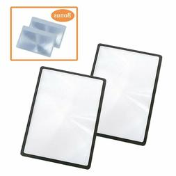 Magpro 4X Magnifying Sheet PVC Lightweight of Page Manifier