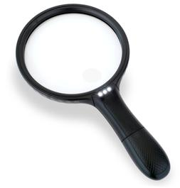 iMagniphy 5.5 Inch Large LED Handheld 2X Magnifier with 5X Z
