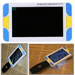 "5"" LCD Portable Electronic TV Digital Magnifier Reading Aid"