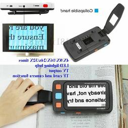 "5"" LCD Portable Video Digital Magnifier Electronic Reading A"