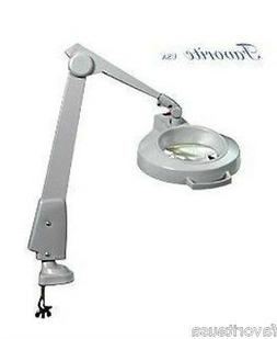 DAZOR 5X CIRCLINE MAGNIFIER LAMP WITH CLAMP CLASSIC FLOATING