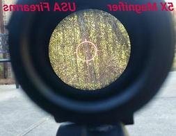 5X Magnifier Scope for eotech aimpoint sightmark vortex red