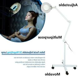 5X Magnifying Lamp Salon Spa Base Hair And Skin Caring Facia
