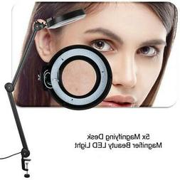5xMagnifying Beauty Cosmetic Tattoo 110V LED Lighted Desk Ma