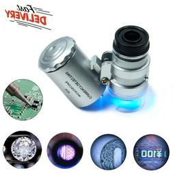 60X Magnifying Loupe Jewelry Jewelers Pocket Magnifier Loop