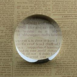 Beileshi 6X Dome/Paperweight Magnifier w/Pouch Table Magnify