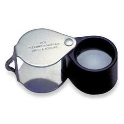 BAUSCH & LOMB 81-61-71 Magnifier,10x,Hastings Triplet