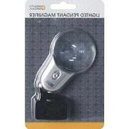 Mighty Bright 87712 Lighted Pendant Magnifier, Silver