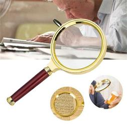 90mm Handheld 15X Magnifier Magnifying Glass Loupe Reading J
