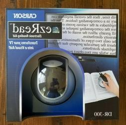 Carson DR-300 EZRead Electronic Digital Reading Aid Magnifie