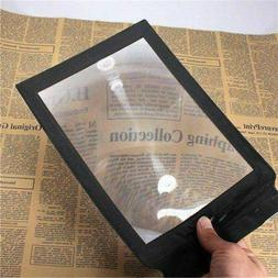 A4 Full Page Magnifier Sheet Big Large Magnifying Glass Read