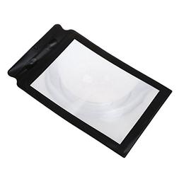 CARESHINE A4 Full Page Large Sheet Magnifier Magnifying Glas