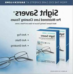 Bausch & Lomb Sight Savers Lens Cleaning Tissues 100 ct 5 x
