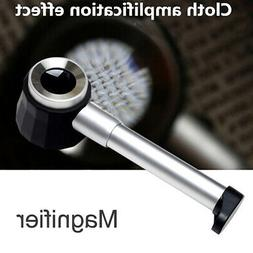 Beileshi 20X Handheld LED Light Magnifier Optical Reading Ma
