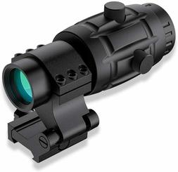 Beileshi 4X Optics Sight Magnifier with Flip to Side Mount W