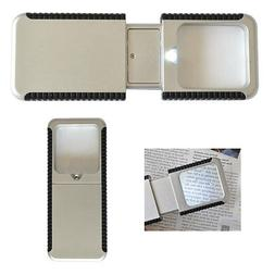 Compact Hand Held Magnifier with LED Light