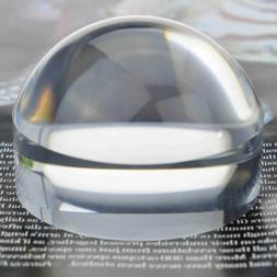 Yoctosun 3 Inch /2.5 Inch Crystal Clear Paperweight 5X Dome