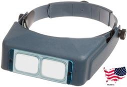 Donegan DA-5 OptiVisor Headband Magnifier, 2.5x Magnificatio