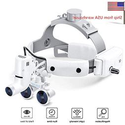 CARESHINE Dental Binocular Loupes Glasses Headband Magnifier