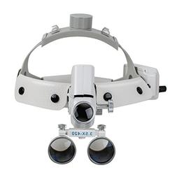Zinnor Dental Binocular Loupes Glasses, 3.5X-420 Optical Hea