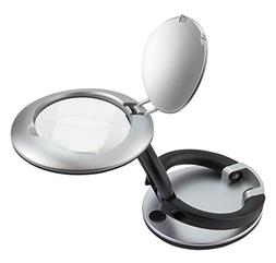 deskbrite mini illuminated magnifier