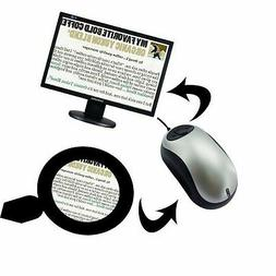 ViSee Electronic Digital Video Magnifier for TV: Visual/Read