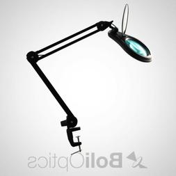 ESD Safe  LED Magnifying Lamp with Clamp, 8 Diopter, Flip Co