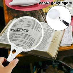Extra Large Handheld Reading Magnifier 25X Magnifying Glass