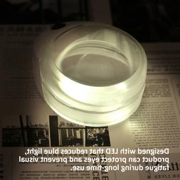 FA- Beileshi 10X LED Light Magnifier USB Rechargeable Magnif