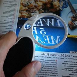 Folding Pocket 4X Magnifier Loupe Magnifying Glass Lens With