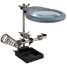 Stahl Tools - H3L - Helping Hand Magnifier with LED Light an