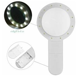 Hand Held Magnifying Glass Reading Magnifier, 20x Zoom Lens