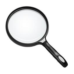 Bear Outdoor 5.5 inch Extra Large Handheld Magnifying Glass