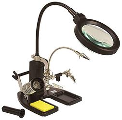 RC Logger Helping Hand Station with Magnifying Glass Third H