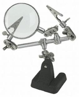 Helping Hand with Magnifying Glass