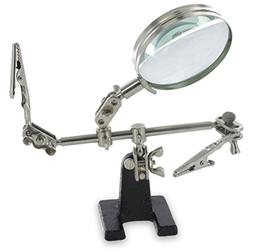 Ram-Pro Helping Hands Magnifier Glass Stand with Alligator C