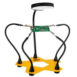 Helping Hands Third Hand Soldering Tool and Vise - Daylight